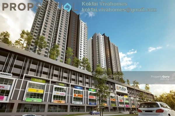 For Sale Serviced Residence at Plaza Kelana Jaya, Kelana Jaya Freehold Unfurnished 2R/1B 350k