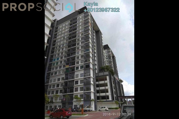 For Sale Apartment at BSP 21, Bandar Saujana Putra Freehold Unfurnished 0R/0B 306k