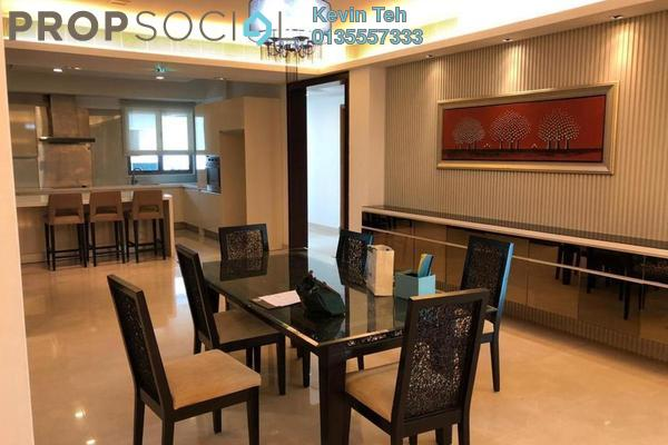 For Rent Condominium at 11 Mont Kiara, Mont Kiara Freehold Semi Furnished 3R/4B 8.5k