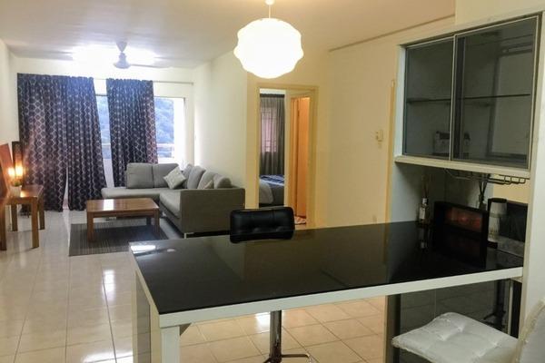 For Rent Apartment at Flora Damansara, Damansara Perdana Freehold Fully Furnished 3R/2B 1.1k