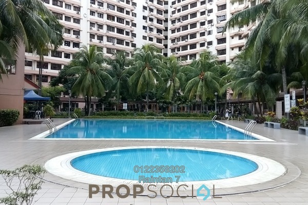For Rent Condominium at Bayu Tasik 1, Bandar Sri Permaisuri Freehold Fully Furnished 3R/2B 1.55k