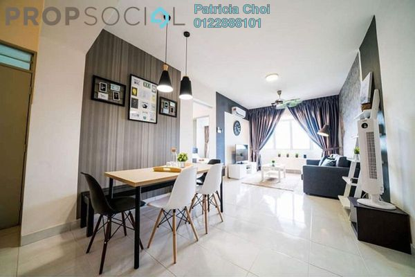 For Rent Serviced Residence at Main Place Residence, UEP Subang Jaya Freehold Fully Furnished 3R/2B 2.4k