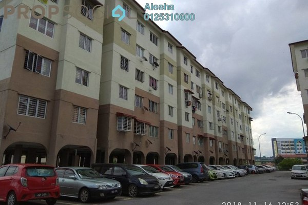 For Sale Apartment at Kelisa Ria Apartment, Kajang Freehold Unfurnished 0R/0B 108k