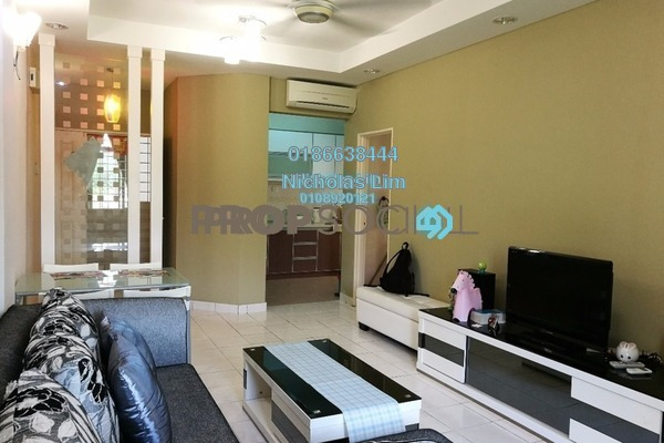 For Sale Apartment at Vista Hatamas, Cheras Freehold Semi Furnished 3R/2B 350k