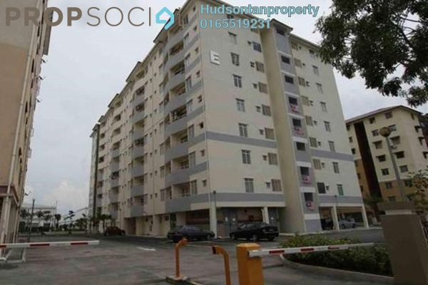 For Sale Condominium at Elite Apartment, Puchong Freehold Semi Furnished 3R/2B 270k