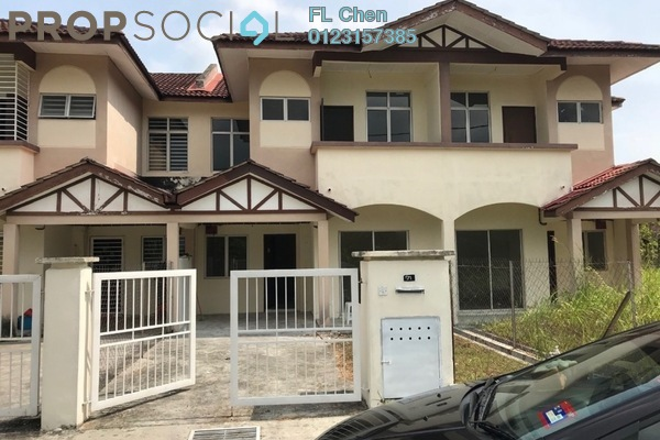 For Sale Terrace at Alam Perdana, Kuala Selangor Leasehold Unfurnished 3R/3B 350k