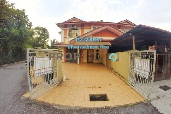 For Sale Terrace at Bandar Saujana Utama, Sungai Buloh Freehold Semi Furnished 4R/3B 500k