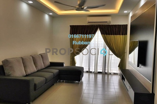 For Sale Condominium at Hijauan Puteri, Bandar Puteri Puchong Freehold Fully Furnished 3R/2B 400k