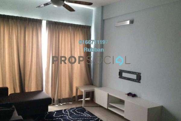 For Sale Condominium at Hijauan Puteri, Bandar Puteri Puchong Freehold Semi Furnished 3R/2B 420k