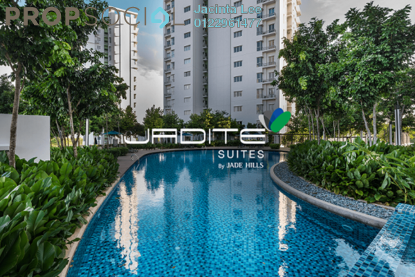 For Sale Serviced Residence at Jadite Suites, Kajang Freehold Semi Furnished 3R/2B 410k