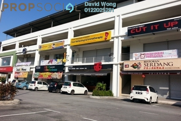 For Rent Shop at Pearl Avenue, Kajang Freehold Unfurnished 0R/2B 4k