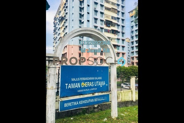 For Sale Apartment at Cheras Utama Apartment, Cheras South Leasehold Unfurnished 3R/2B 220k