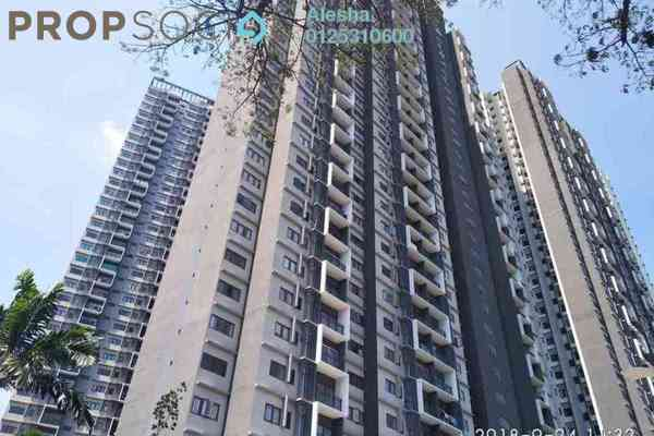 For Sale Serviced Residence at Seasons Garden Residences, Wangsa Maju Freehold Unfurnished 0R/0B 405k