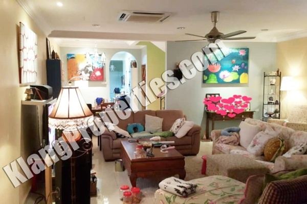 For Sale Terrace at Taman Radzi, Port Klang Freehold Fully Furnished 4R/4B 680k