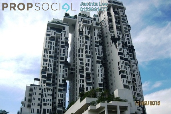 For Sale Serviced Residence at Icon Residence (Mont Kiara), Dutamas Freehold Semi Furnished 2R/2B 817k