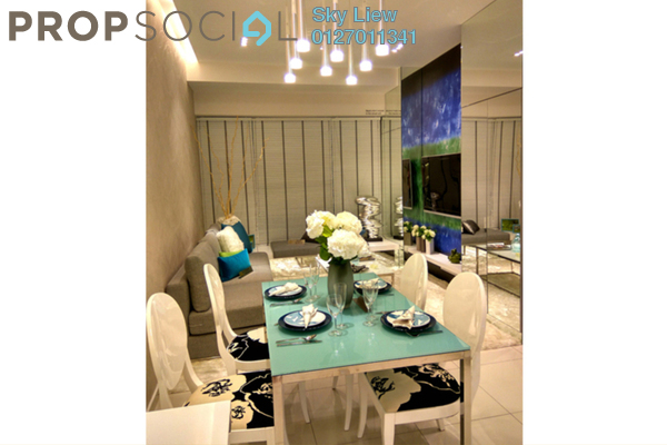 For Sale Condominium at Greenfield Residence, Bandar Sunway Leasehold Semi Furnished 2R/1B 450k