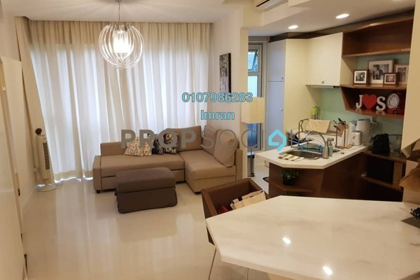 For Rent Serviced Residence at VERVE Suites, Mont Kiara Freehold Fully Furnished 1R/1B 2.6k