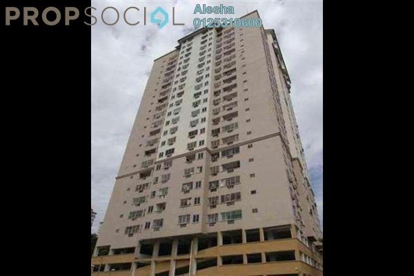 For Sale Condominium at Pelangi Indah, Jalan Ipoh Freehold Semi Furnished 0R/0B 277k