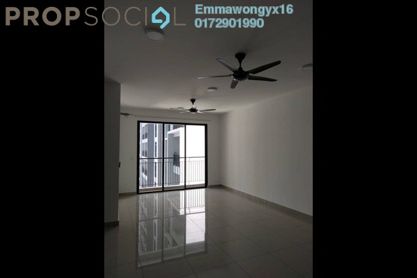 For Rent Condominium at The Henge Residence, Kepong Freehold Fully Furnished 3R/2B 1.4k