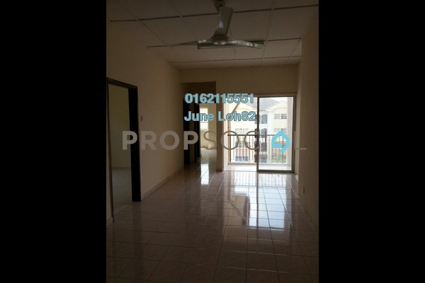 For Rent Apartment at Orkid Apartment, Shah Alam Freehold Unfurnished 3R/2B 750translationmissing:en.pricing.unit