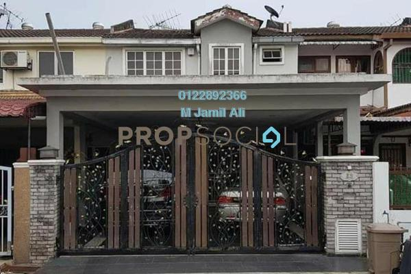 For Sale Terrace at Taman Muhibbah, Kajang Freehold Fully Furnished 4R/3B 550k