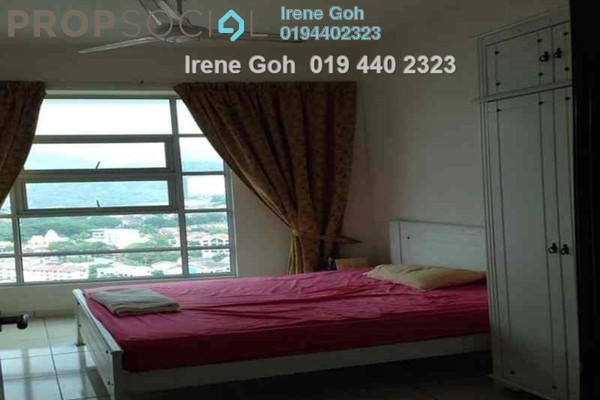 For Rent Condominium at The Brezza, Tanjung Tokong Freehold Fully Furnished 3R/2B 2.5k