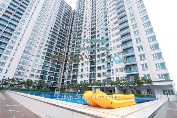 For Sale Serviced Residence at D'Carlton Seaview Residences, Masai Freehold Unfurnished 1R/1B 172k
