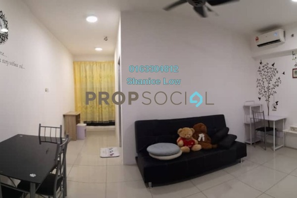 For Rent Condominium at V12 Sovo, Shah Alam Freehold Fully Furnished 0R/1B 1.2k