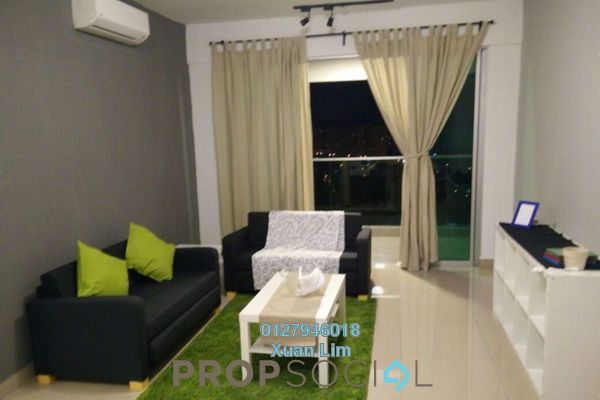 For Rent Condominium at Kiara Residence 2, Bukit Jalil Freehold Fully Furnished 3R/3B 2.5k