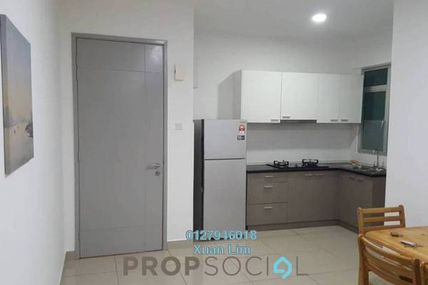 For Sale Condominium at Kiara Residence 2, Bukit Jalil Leasehold Fully Furnished 3R/2B 560k