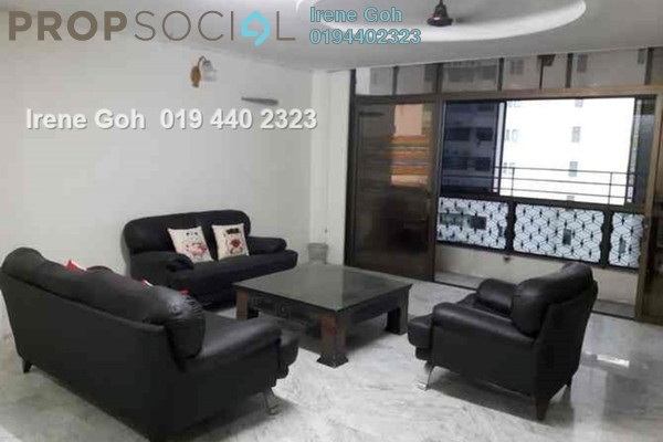 For Rent Condominium at Precious Court, Gurney Drive Freehold Fully Furnished 3R/3B 2.8k