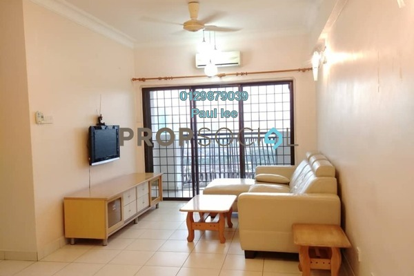 For Sale Apartment at Avilla, Bandar Puchong Jaya Freehold Semi Furnished 3R/2B 418k