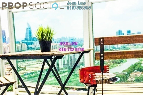 For Rent Duplex at The Scott Soho, Old Klang Road Freehold Semi Furnished 1R/2B 2.4k