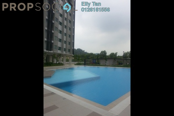 For Rent Apartment at Rafflesia @ Pelangi Semenyih 2, Semenyih Freehold Semi Furnished 3R/2B 1.1k