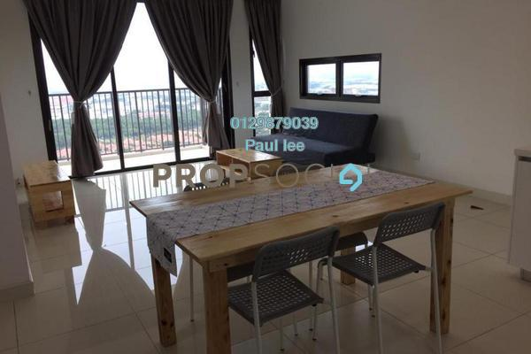 For Rent Condominium at Putra Residence, Putra Heights Freehold Fully Furnished 3R/2B 2.4k