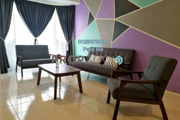For Sale Condominium at Rhythm Avenue, UEP Subang Jaya Freehold Fully Furnished 3R/2B 388k