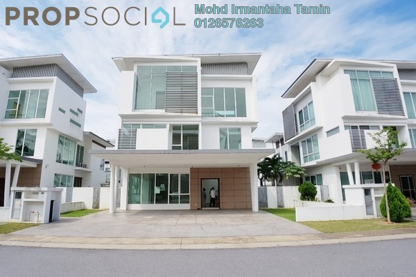 For Sale Bungalow at Garden Residence, Cyberjaya Freehold Unfurnished 6R/6B 1.8m
