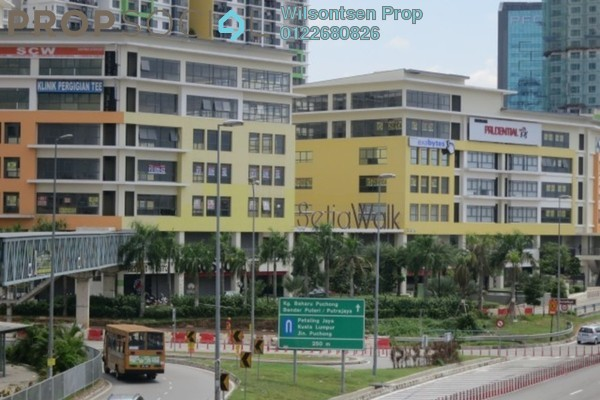 For Rent Shop at Setia Walk, Pusat Bandar Puchong Freehold Unfurnished 0R/1B 4k