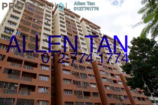 For Rent Apartment at Sri Camellia Apartment, Kajang Freehold Fully Furnished 4R/3B 1.2k