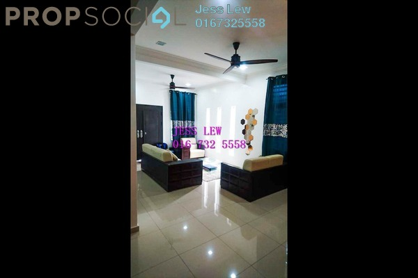For Sale Semi-Detached at Taman Bertam Perdana, Melaka Freehold Semi Furnished 4R/3B 399k