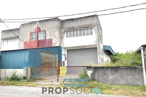 For Sale Factory at Kawasan Perindustrian Pengkalan, Ipoh Freehold Unfurnished 0R/3B 460k