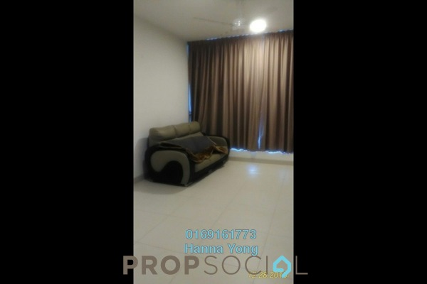 For Rent Serviced Residence at AraGreens Residences, Ara Damansara Freehold Semi Furnished 2R/1B 1.8k