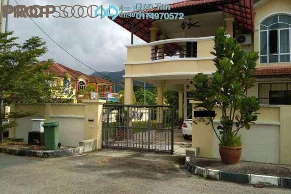 For Sale Semi-Detached at Taman Sempurna, Balik Pulau Freehold Fully Furnished 4R/2B 950k