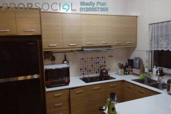 For Rent Condominium at Zen Residence, Puchong Freehold Semi Furnished 4R/2B 1.6k