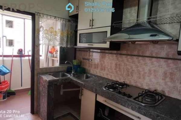 For Rent Apartment at Saraka Apartment, Pusat Bandar Puchong Freehold Semi Furnished 3R/2B 1.2k