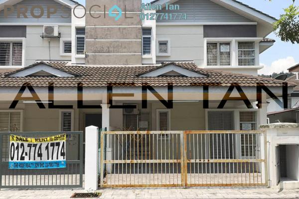 For Sale Semi-Detached at Taman Tasik Semenyih, Semenyih Freehold Fully Furnished 4R/3B 400k