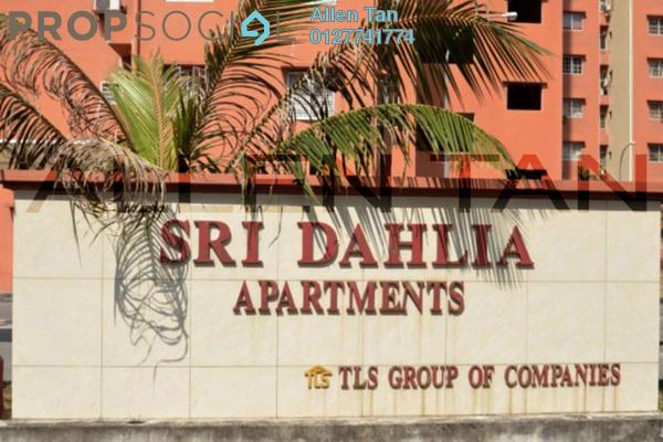 For Sale Apartment at Sri Dahlia Apartment, Kajang Freehold Semi Furnished 3R/2B 235k
