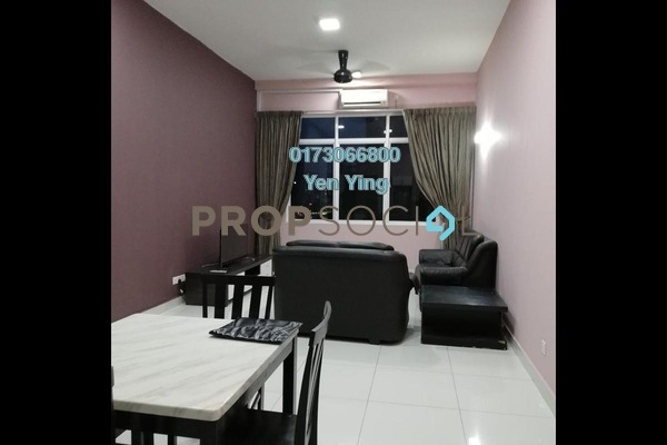 For Rent Serviced Residence at Vue Residences, Titiwangsa Freehold Fully Furnished 3R/2B 2.5k