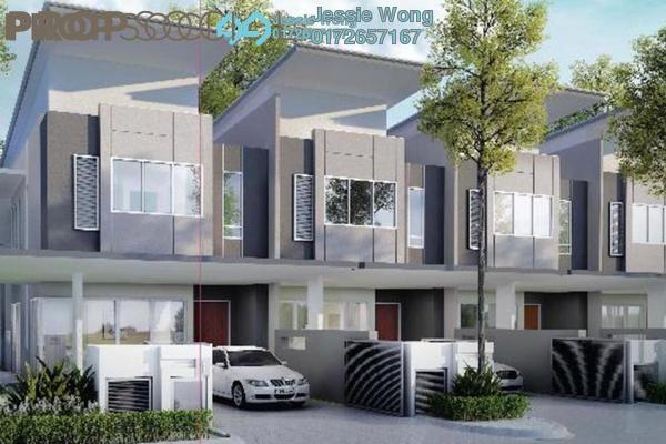 For Sale Terrace at Cyberia Crescent 2, Cyberjaya Freehold Semi Furnished 4R/4B 528k