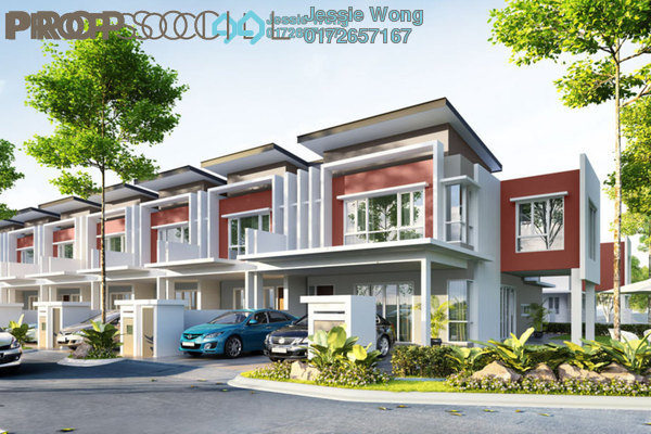 For Sale Terrace at D'Melor, Cyberjaya Freehold Semi Furnished 4R/4B 528k